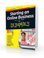 Betsy Pruitt in Starting an Online Business for Dummies